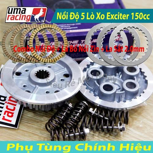 Full Bộ Nồi Độ Uma Racing 5 Lò Xo Dùng Cho Exciter 150cc