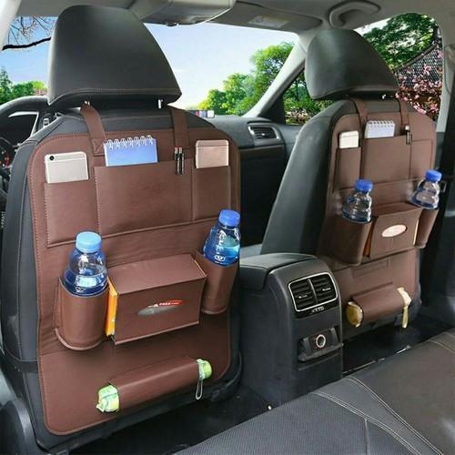 Bộ 2 túi đựng đồ da ghế đa năng cho các dòng xe con