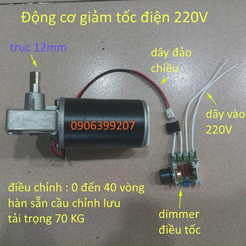 motor giảm tốc 220V 40 vòng tải 70KG - 8591900 , 17903950 , 15_17903950 , 385000 , motor-giam-toc-220V-40-vong-tai-70KG-15_17903950 , sendo.vn , motor giảm tốc 220V 40 vòng tải 70KG