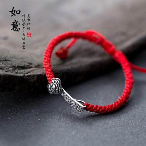 Lắc tay bạc 925  Vòng tay  Vòng tay chỉ đỏ may mắn hình chía khóa cổ Lắc tay Hàn Quốc - 8568988 , 17894536 , 15_17894536 , 250000 , Lac-tay-bac-925-Vong-tay-Vong-tay-chi-do-may-man-hinh-chia-khoa-coLac-tay-Han-Quoc-15_17894536 , sendo.vn , Lắc tay bạc 925  Vòng tay  Vòng tay chỉ đỏ may mắn hình chía khóa cổ Lắc tay Hàn Quốc