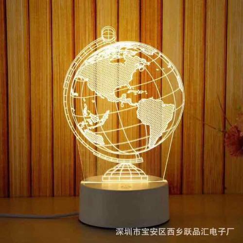 Đèn ngủ 3D - 7728115 , 17899191 , 15_17899191 , 80000 , Den-ngu-3D-15_17899191 , sendo.vn , Đèn ngủ 3D
