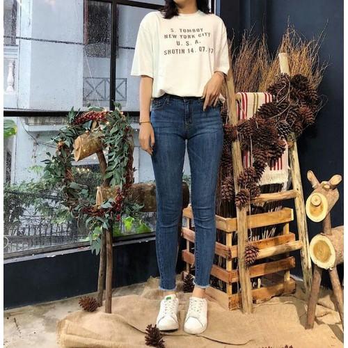 quần jeans nữ độc đáo