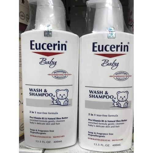 Sữa Tắm Gội Cho Bé Eucerin Baby Wash & Shampoo
