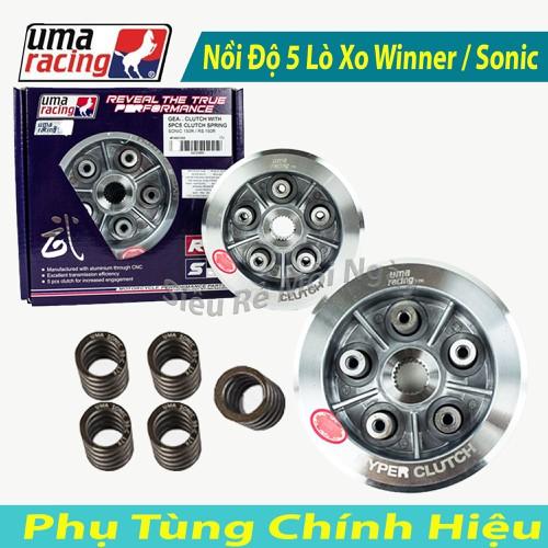 Bộ Nồi Độ Uma Racing 5 Lò Xo Dùng Cho Winner 150cc, Sonic 150cc - 8571380 , 17895526 , 15_17895526 , 1500000 , Bo-Noi-Do-Uma-Racing-5-Lo-Xo-Dung-Cho-Winner-150cc-Sonic-150cc-15_17895526 , sendo.vn , Bộ Nồi Độ Uma Racing 5 Lò Xo Dùng Cho Winner 150cc, Sonic 150cc
