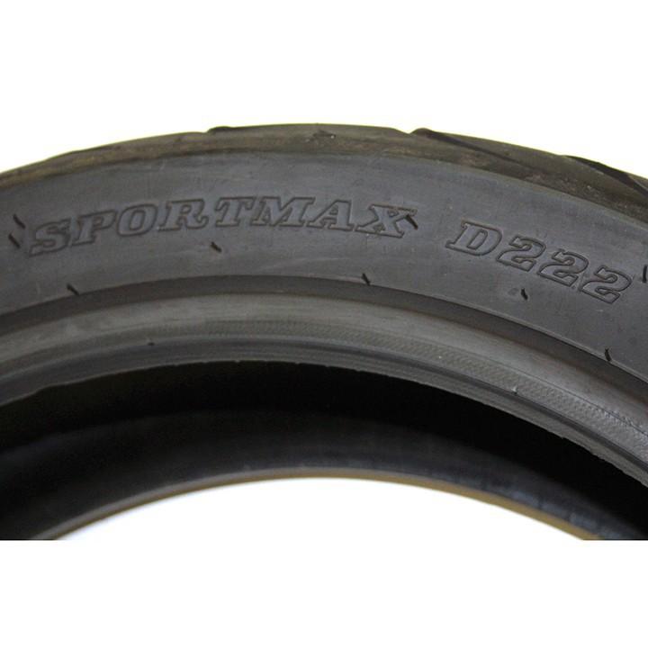 Lốp Dunlop 120.70-ZR17 D222 TL 58W Vỏ xe máy Dunlop size 120.70-ZR17 D222 TL 58W_ Dunlop Việt Nam, giá rẻ, uy tín 5