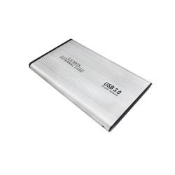 Hộp Đựng Ổ Cứng HDD BOX 2.5 inch SATA USB 3.0 Hợp Kim Nhôm Tỏa Nhiệt Tốt - Bạc