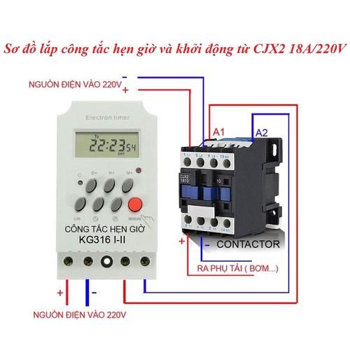 Comboo Công tắc hẹn giờ và khởi động từ 18A-220V - 8596002 , 17905688 , 15_17905688 , 220000 , Comboo-Cong-tac-hen-gio-va-khoi-dong-tu-18A-220V-15_17905688 , sendo.vn , Comboo Công tắc hẹn giờ và khởi động từ 18A-220V