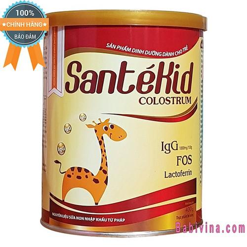 [CHO XEM HÀNG] Sữa Bột Sante kid 400g