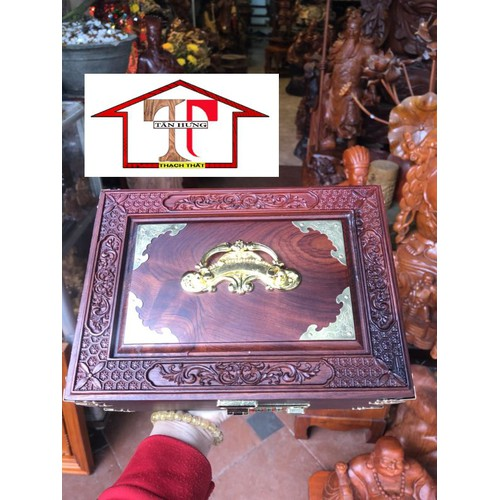 Hộp đựng con dấu và nữ trang khóa số loại to gỗ hương cao cấp - 4759761 , 17907949 , 15_17907949 , 750000 , Hop-dung-con-dau-va-nu-trang-khoa-so-loai-to-go-huong-cao-cap-15_17907949 , sendo.vn , Hộp đựng con dấu và nữ trang khóa số loại to gỗ hương cao cấp