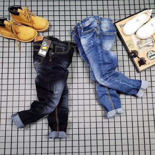 Quần jean dài cao cấp cho bé.