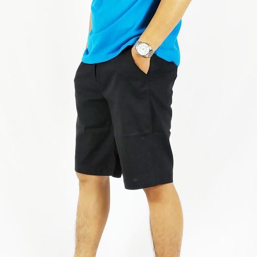 Quần short đũi nam cao cấp màu đen