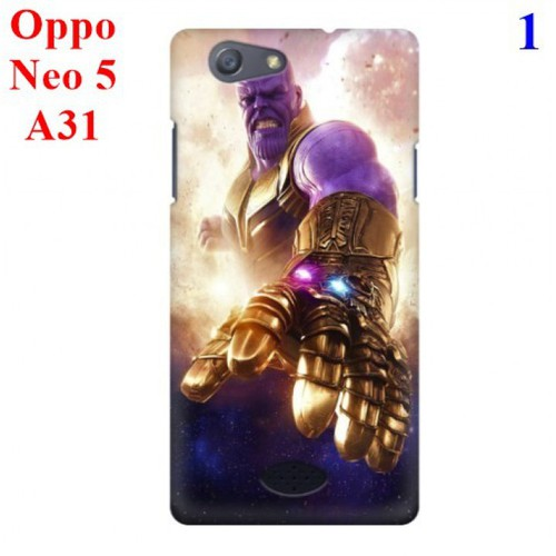 Ốp lưng Oppo Neo 5 - A31 hình Siêu Anh Hùng Avengers