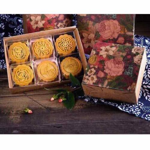 Set 10 hộp hoa đựng 4 bánh 50g