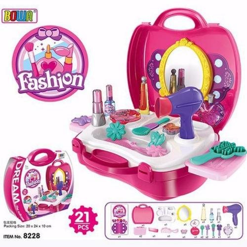 Bộ vali trang điểm cho bé - Bộ đồ chơi trang điểm cho bé