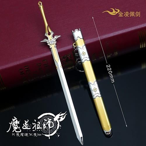 Mô hình Kiếm tam kiếm hiệp cổ trang Trung Hoa Tặng kèm giá đỡ - 8623671 , 17916360 , 15_17916360 , 135000 , Mo-hinh-Kiem-tam-kiem-hiep-co-trang-Trung-Hoa-Tang-kem-gia-do-15_17916360 , sendo.vn , Mô hình Kiếm tam kiếm hiệp cổ trang Trung Hoa Tặng kèm giá đỡ