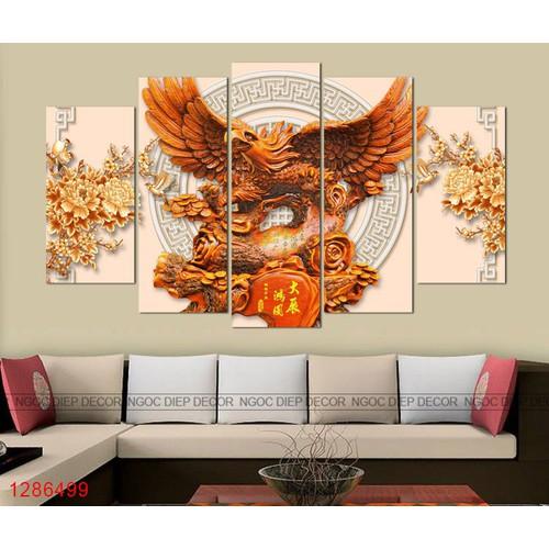 tranh treo tường - tranh đại bàng