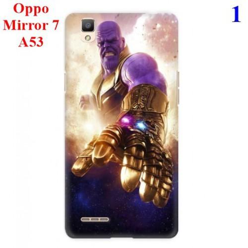 Ốp lưng Oppo Mirror 7 - A53 hình Siêu Anh Hùng Avengers