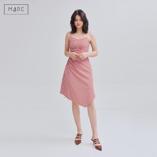 Đầm 2 dây caro rút nhún 1 bên eo màu Đỏ  Marc Fashion - 11616403 , 17922771 , 15_17922771 , 455000 , Dam-2-day-caro-rut-nhun-1-ben-eo-mau-Do-Marc-Fashion-15_17922771 , sendo.vn , Đầm 2 dây caro rút nhún 1 bên eo màu Đỏ  Marc Fashion