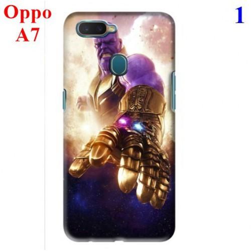 Ốp lưng Oppo A7 hình Siêu Anh Hùng Avengers