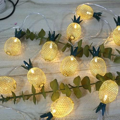 Bộ 02 Đèn led trang trí hình trái thơm độc đáo