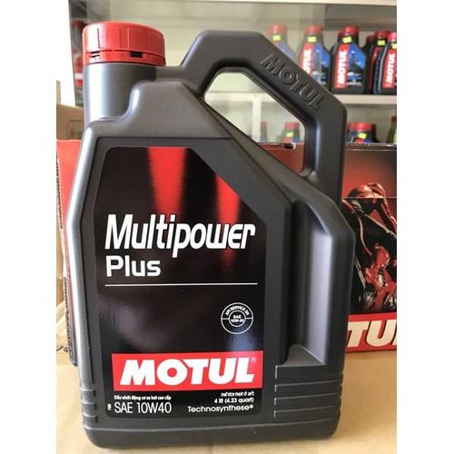 Dầu nhớt Motul Multipower Plus 10W40  4000ml chuyên dùng cho xe ô tô - 7619560 , 17927543 , 15_17927543 , 355000 , Dau-nhot-Motul-Multipower-Plus-10W40-4000ml-chuyen-dung-cho-xe-o-to-15_17927543 , sendo.vn , Dầu nhớt Motul Multipower Plus 10W40  4000ml chuyên dùng cho xe ô tô