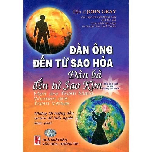 Sách Đàn Ông Đến Từ Sao Hỏa, Đàn Bà Đến Từ Sao Kim