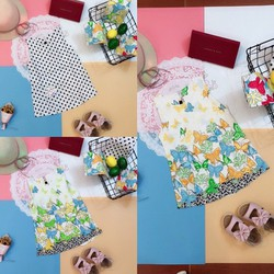 váy chữ A hàn quốc thiết kế của LH kids cho bé từ 5-16kg