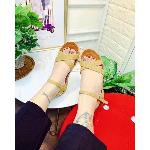 giày sandal bảng chéo