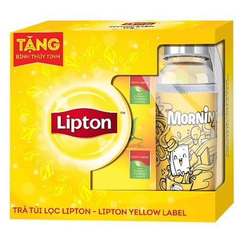 Combo 2 Hộp Trà Lipton Nhãn Vàng