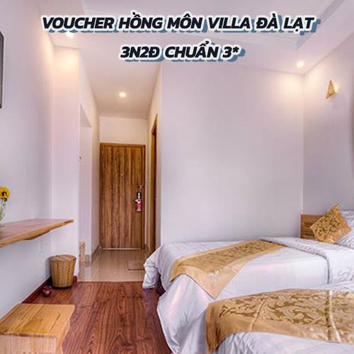 Voucher Hồng Môn Villa Đà Lạt 3N2Đ Chuẩn 3*