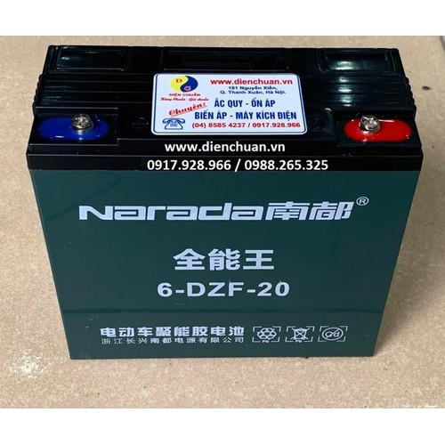 Ắc quy xe đạp điện Narada 12V 20Ah 6-DZF-20 - 8649955 , 17926554 , 15_17926554 , 649000 , Ac-quy-xe-dap-dien-Narada-12V-20Ah-6-DZF-20-15_17926554 , sendo.vn , Ắc quy xe đạp điện Narada 12V 20Ah 6-DZF-20