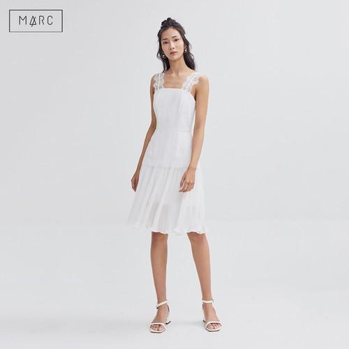Đầm 2 dây ren mi phối dập li màu Trắng  Marc Fashion - 7618306 , 17918616 , 15_17918616 , 895000 , Dam-2-day-ren-mi-phoi-dap-li-mau-Trang-Marc-Fashion-15_17918616 , sendo.vn , Đầm 2 dây ren mi phối dập li màu Trắng  Marc Fashion
