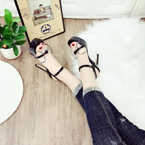 Giày sandal cao gót quai trong nơ đẹp - 8640126 , 17923056 , 15_17923056 , 310000 , Giay-sandal-cao-got-quai-trong-no-dep-15_17923056 , sendo.vn , Giày sandal cao gót quai trong nơ đẹp
