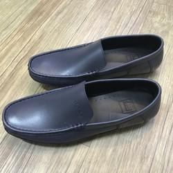 Giày mọi da nam cao cấp xám xanh KL0306