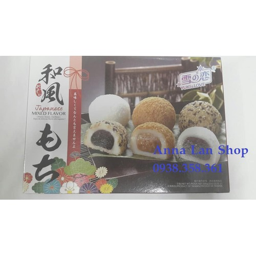 Combo 2 hộp Bánh mochi thập cẩm - Yuki & Love - Đài Loan