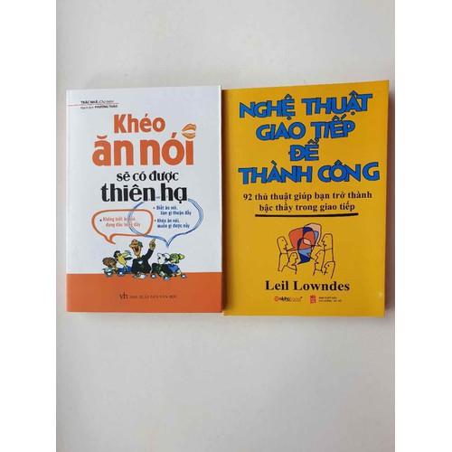 sách combo 2q nghệ thuật giao tiếp- khéo ăn khéo nói