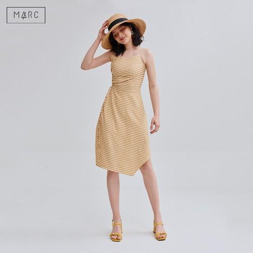 Đầm 2 dây caro rút nhún 1 bên eo màu Vàng Marc Fashion - 11394009 , 17922598 , 15_17922598 , 455000 , Dam-2-day-caro-rut-nhun-1-ben-eo-mau-Vang-Marc-Fashion-15_17922598 , sendo.vn , Đầm 2 dây caro rút nhún 1 bên eo màu Vàng Marc Fashion
