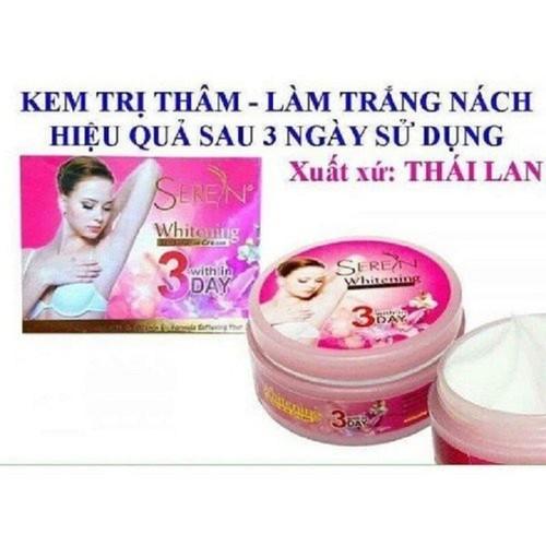 Trị Thâm Nách Seren 3 Day Thái Lan