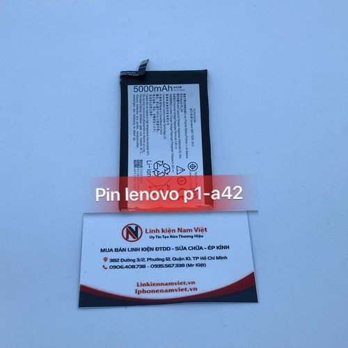 Pin Lenovo Vibe P1 P1A42 - P1C58 - P1C72 - BL244 Dung Lượng 5000mAh Zin. - 8624998 , 17916728 , 15_17916728 , 250000 , Pin-Lenovo-Vibe-P1-P1A42-P1C58-P1C72-BL244-Dung-Luong-5000mAh-Zin.-15_17916728 , sendo.vn , Pin Lenovo Vibe P1 P1A42 - P1C58 - P1C72 - BL244 Dung Lượng 5000mAh Zin.