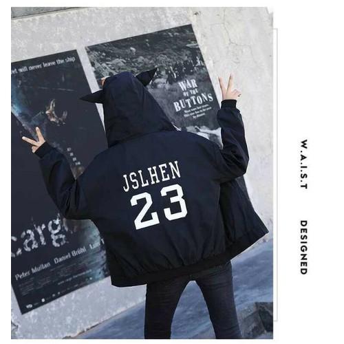 áo khoác in số 23