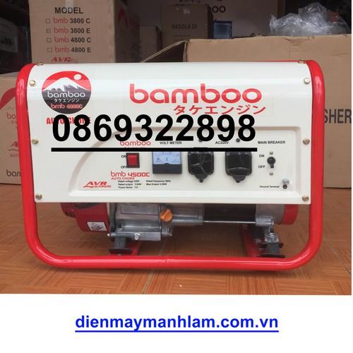 máy phát điện 3kw Bamboo 4800E - 4960854 , 17911985 , 15_17911985 , 10500000 , may-phat-dien-3kw-Bamboo-4800E-15_17911985 , sendo.vn , máy phát điện 3kw Bamboo 4800E