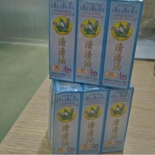 Combo 5 chai dầu gió Thái Lan dạng bi lăng Cheng Cheng xanh 5ml - 4961503 , 17918103 , 15_17918103 , 175000 , Combo-5-chai-dau-gio-Thai-Lan-dang-bi-lang-Cheng-Cheng-xanh-5ml-15_17918103 , sendo.vn , Combo 5 chai dầu gió Thái Lan dạng bi lăng Cheng Cheng xanh 5ml