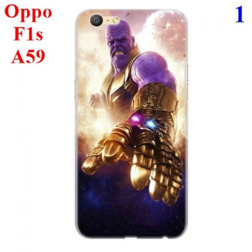 Ốp lưng Oppo F1s - A59 hình Siêu Anh Hùng Avengers