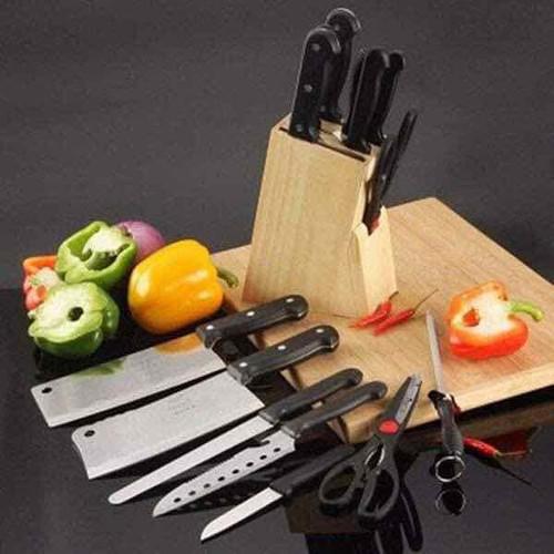 bộ dao gỗ 7 món