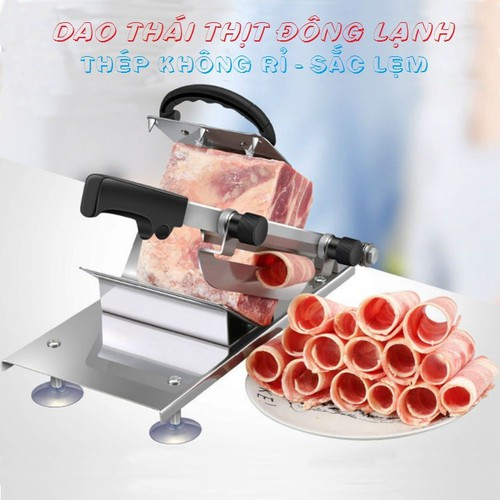 Dao thái thịt đông lạnh- tặng kèm 1 lưỡi dự phòng