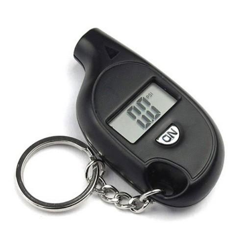 Thiết bị kiểm tra áp suất lốp kèm móc khóa