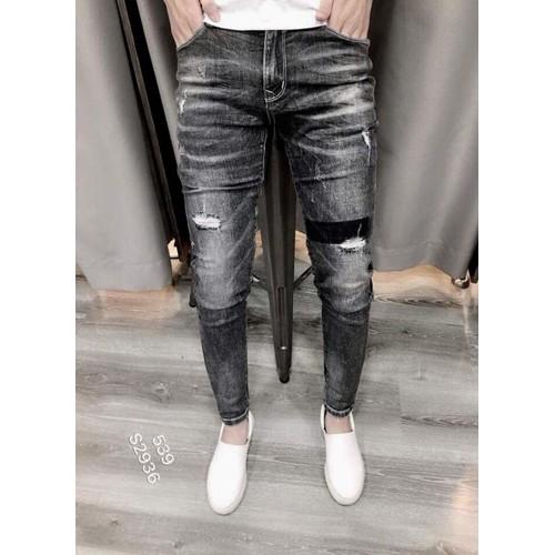 Quần jeans nam phá cách