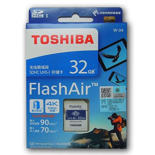 SD Toshiba Wifi 32GB W-04
