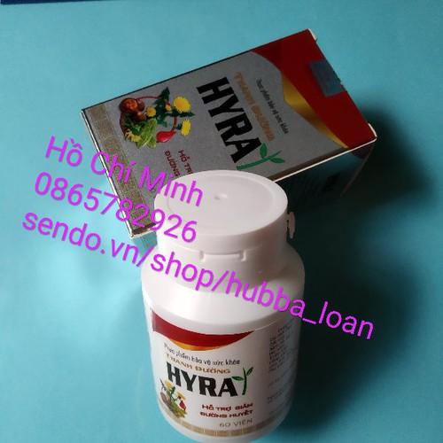1 hộp Hyra Thanh đường Việt Nam 60 viên