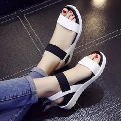 Dép sandal nữ phong cách Hàn Quốc
